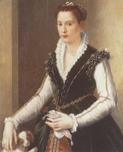 Isabella di Cosimo I by akkesabdro Allori