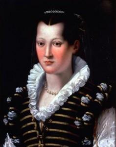 Isabella di Cosimo I by Alessandro Allori